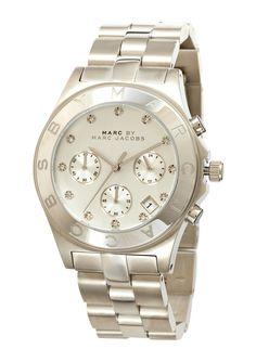 ideeli   MARC BY MARC JACOBS Ladies Henry Chronograph Watch