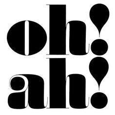 Oh! Ah! by Herb Lubalin
