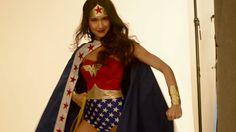 Behind The Scenes Wonder Woman Costume Photo Shoot | Jo-Ann