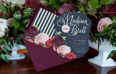 These wedding invitation ideas from Laura Damiano Designs are full of so much inspiration, we are so amazed! Take a look and happy pinning!