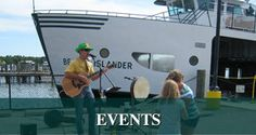Beaver Island Events: Beaver Island Ferry, Boat to Beaver Island Michigan - Beaver Island Boat Company Family Leisure, Mackinac Island, Michigan, Places To Go, Ferry Boat, Activities, Vacations, Yard