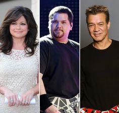 Eddie Van Halen, Alex Van Halen, Hollywood Stars, Classic Hollywood, Wolfgang Van Halen, Valerie Bertinelli, Best Guitarist, Celebrity Deaths, Bands