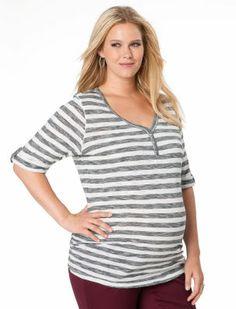 Plus Size Maternity Shirts