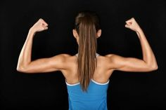 These six classic strength moves for how to get rid of back fat target all of the muscles in your upper body to help you banish bra bulge at the same time.
