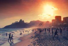 Lovely shot of rio