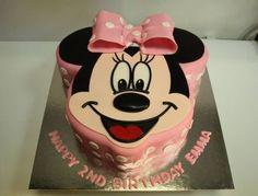 *Minnie Mouse Cake