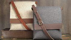Merino Wool Crossbody Bag