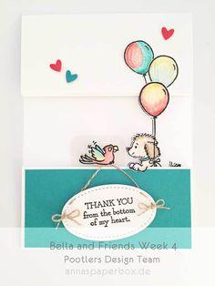 Pootlers Design Team – Bella and Friends Week 4 - anna's paperbox