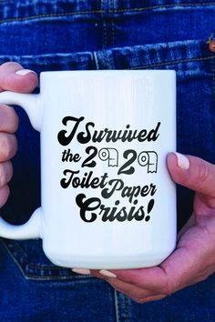 Send your friend a funny quarantine gift to cheer them up. Funny Coffee Mugs, Coffee Humor, Personalized Coffee Mugs, Personalized Gifts, Cheer Up Gifts, Mail Gifts, Funny Animal Jokes, The More You Know, Vinyl Crafts