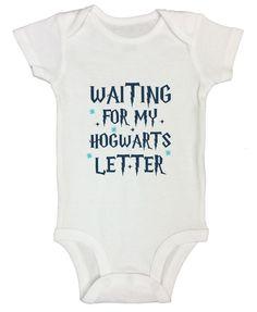 Waiting For My Hogwarts Letter FUNNY KIDS ONESIE