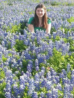 Stephanie Keck of Mansfield, Texas. Photo taken in Ennis, Texas.