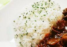 Simple Parsley Rice