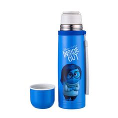 Inside Out Disney Thermos Food Grade Stainless Steel Vacuum Flask Water Bottle School Water Bottles, Eco Friendly Water Bottles, Flask Water Bottle, Vacuum Flask, Water Glass, Inside Out, Food Grade, Drinkware, Vacuums