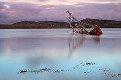 Shipwreck, Fanny's Beach, Co. Donegal, Ireland