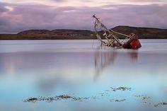 Shipwreck, Fanny's Beach, Co. Donegal, Ireland