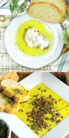 This easy blend of herbs and spices makes for the best bread dipping oil!