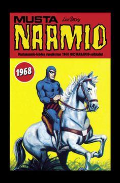 Mustanaamio - Mustanaamio-lehden vuosikerran 1968 Mustanaamio-seikkailut