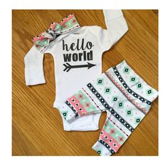 Our newest hello world set