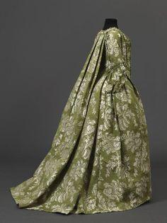 Robe à la française Femme Anonyme entre 1750 et 1760