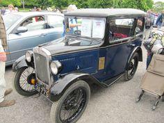 Austin 7 RL Saloon 1931 seen at Beaulieu Spring 2014 Autojumble