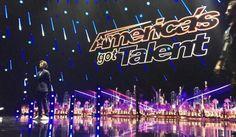 Louis is a guest America's Got Talent judge!