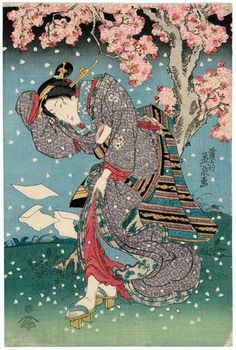 Keisai Eisen: Birds and Flowers, Wind and Moon, in the Modern Style (Imayô kachô fûgetsu) - Museum of Fine Arts