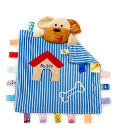 Take a look at this Blue Buddy the Dog Peekaboo Blanket on zulily today!