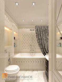 Фото дизайн ванной комнаты из проекта «Дизайн трехкомнатной квартиры 100 кв.м. в стиле неоклассики, ЖК «Смольный парк»»