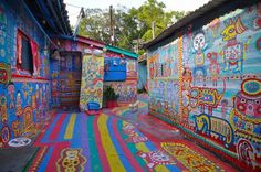 Taichung's Rainbow Village – The Hand-Painted Wonder of Taiwan