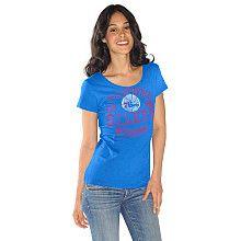G-III Philadelphia 76ers Womens Game On T-Shirt - NBAStore.com