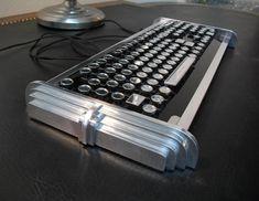 An art deco style keyboard