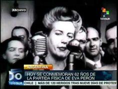 Hace 95 años nació Eva Perón, figura mítica de la historia argentina. Se cumplen 95 años del nacimiento de Eva María Duarte Ibarguren mejor conocida como Eva Perón. Evita, como es conocida en el mundo, fue una figura icónica de la Argentina del siglo XX; reconocida por su lucha social en favor de los desprotegidos. Fue esposa del presidente Juan Domingo Perón.