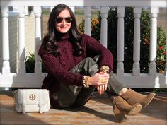 Wake Up Your Wardrobe  What I Wore: Camo + Bordeaux