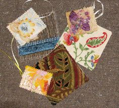 Shabby Chic Gift Tags Plus  Coaster  Set of by IckyChicDesigns