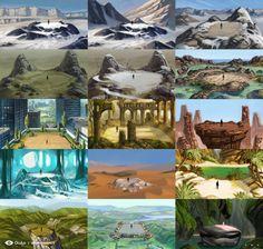 Oculus MEDIUM - Environment Roughs, Razmig Mavlian on ArtStation at https://www.artstation.com/artwork/VYG3R