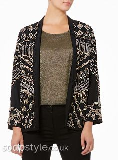 Found: Carla Connor's Beaded Jacket in Coronation Street [✚Click photo for info]