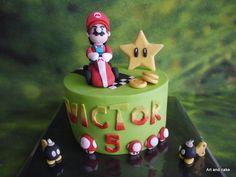 Mario car cake/taart