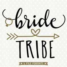 DIY Bridal Party Shirt, Bride Tribe SVG, Bridesmaid gift svg, Wedding dxf file, Commercial svg, SVG cutting file, silhouette cut file by queenSVGbee on Etsy