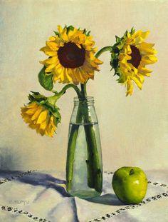 En septiembre de 2007, empecé a bloguear para contrastar el progreso de mis habilidades de pintura (mi primera pintura vez en aceites f...