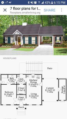 New bathroom design small layout floor plans loft 16 ideas Br House, Tiny House Cabin, House With Porch, Tiny House Design, Loft Design, Sims House Plans, Small House Floor Plans, Casas The Sims 4, Cottage Plan