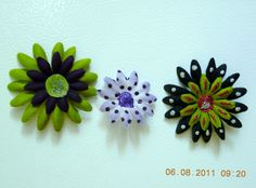 My flower magnets