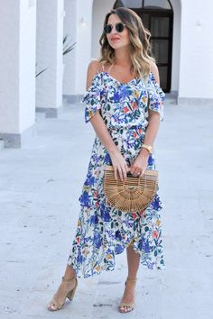 My Favorite Floral Dress (EVER) - Oh So GlamOh So Glam