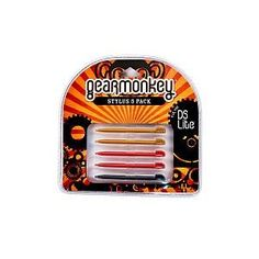 Gear Monkey Stylus 5-Pack - Various Colors, Nintendo DS Lite, Gearmonkey (Video Game)  http://www.amazon.com/dp/B002VK6MJK/?tag=helhyd-20  B002VK6MJK