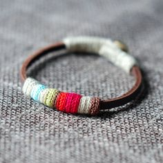 Hey, I found this really awesome Etsy listing at https://www.etsy.com/listing/71044037/mini-leather-bracelet