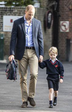El príncipe George empieza el cole de mayores