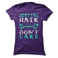 Hunting Hair Don't Care