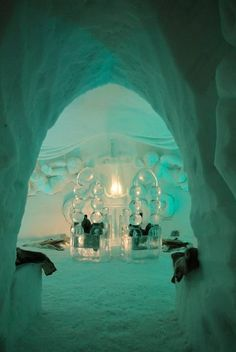 8 Stunning Ice Hotels From Around The World Igloo Hotel Norway, Places Around The World, Around The Worlds, Elsa Castle, Ice Hotel, Unique Hotels, Luxury Hotels, Ice Castles, Holiday Places