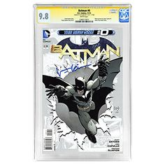 Val Kilmer Autographed CGC Signature Series 9.8 The New 52 Batman #0 Comic @ niftywarehouse.com #NiftyWarehouse #Batman #DC #Comics #ComicBooks