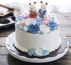 Bolos Lindos Flamingo Party, Afternoon Tea, Cupcake Cookies, Cupcakes, Funny Cake, Animal Cakes, Rose Cake, Cake Decorating, Wedding Cakes