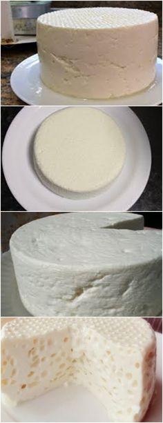 QUEIJO CASEIRO , MUITO BOM !! VEJA AQUI >>>omo fazer queijo caseiro? Para começar coloque, em uma panela alta, o coalho, os 10 litros de leite e o sal, misturando bem, por cerca de um minuto. Agora, deixe a mistura descansar na panela por uma hora. #receita#bolo#torta#doce#sobremesa#aniversario#pudim#mousse#pave#Cheesecake#chocolate#confeitaria My Recipes, Vanilla Cake, Cheese, Desserts, Food, Cheese Recipes, Main Courses, Condensed Milk, Recipes